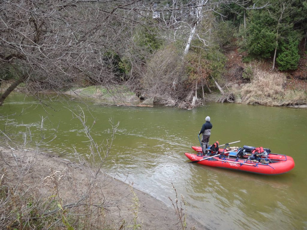 Ontario Drfit Boat trips for steelhead