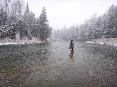 Winter fishing for steelhead can be good