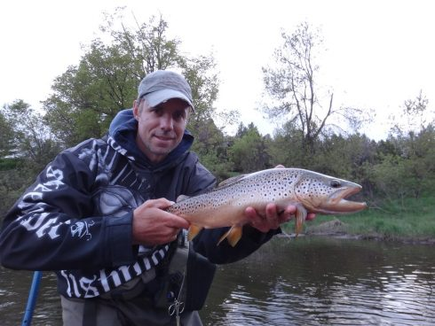 Streamer fishing in Ontario