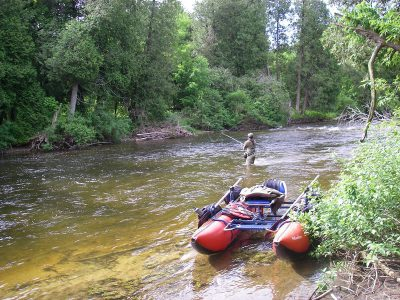 The Saugeen River is one of Ontario's best trout and steelhead rivers