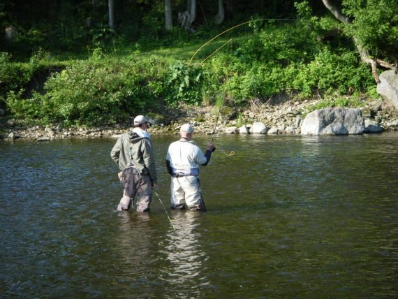 Ontario river fishing lessons