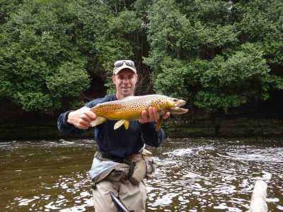 Best Ontario Brown trout guide