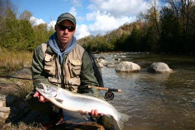 Fly Fishing For Steelehad